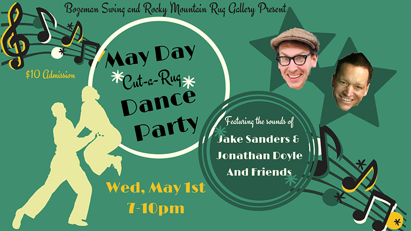 MAY DAY CUT-A-RUG DANCE PARTY